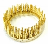 DH-P/F-REEL Reel of 100 Gold Plated Female Crimp Pins for D-Sub Housings