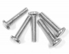F-621-C 6-32 x 5/8 SAE Machine Screws Steel Nickel Plated Binder Head
