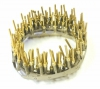 DH-P/M-REEL Reel of 100 Gold Plated Male Crimp Pins for D-Sub Housings