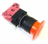 HW1B-Y2F01-R E-Stop 1 Normally Closed Push-Pull with 40MM Red Button
