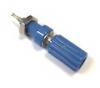 111-0110-001 Blue Banana Jack Insulated Binding Post